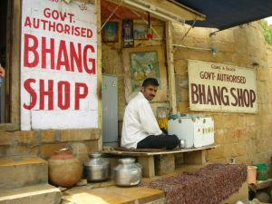 Govt. Authorised Bhang Shop